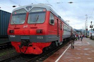 Eisenbahnfahren in Russland