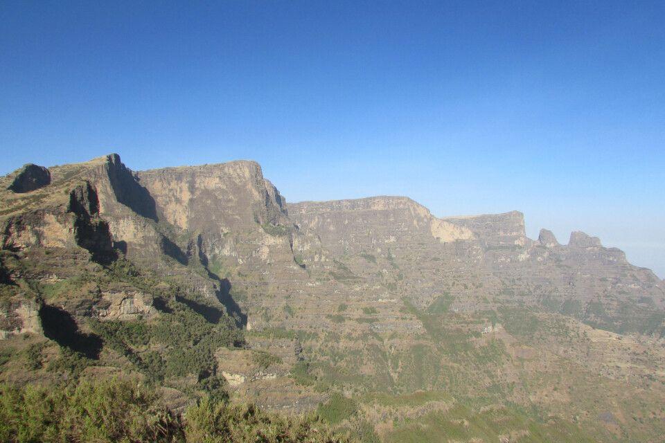 Abbrüche der Semien-Berge