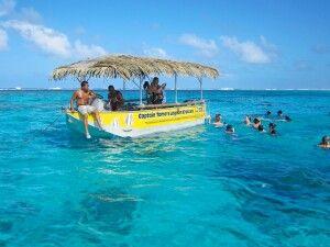 Captain Tamas Fahrt auf Aitutaki
