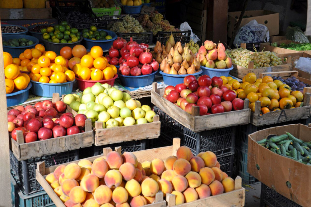 Markt in Dilijan am 7. Tag