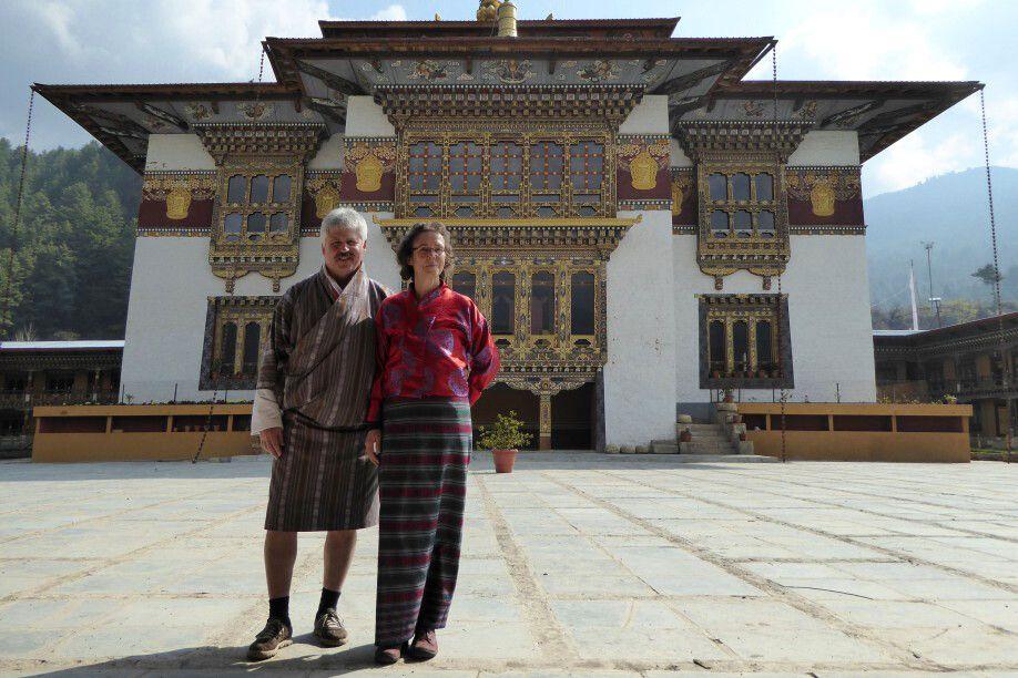 Dzong im Bumthang-Tal
