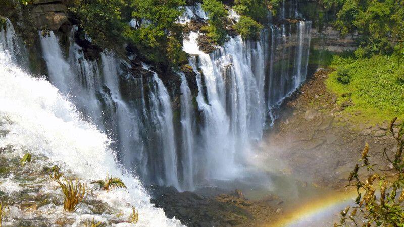 Wasserfälle Angolanisches Hochland © Diamir