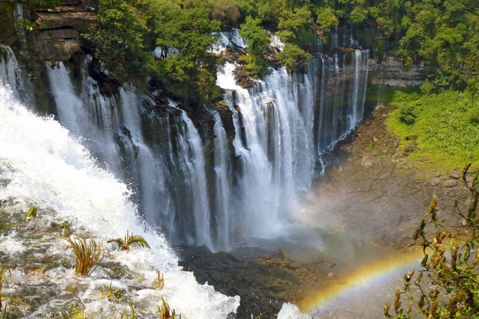 Wasserfälle Angolanisches Hochland