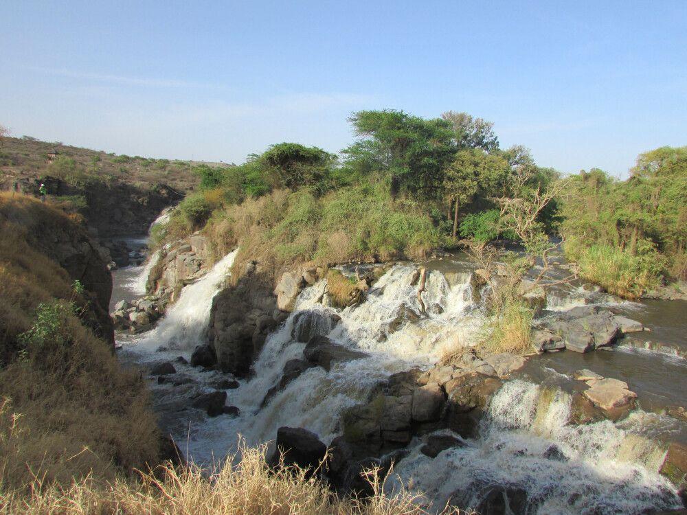 Wasserfall im Swash NP