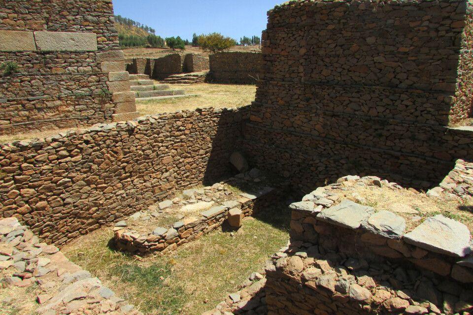 Reste des Palastes der Königin von Saba