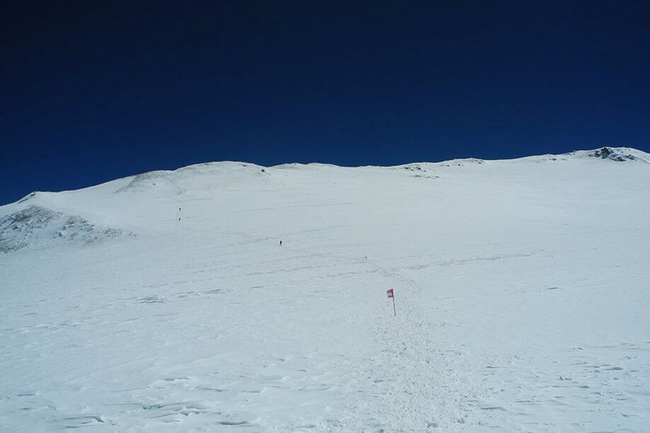 Nun ist es nicht mehr weit bis zum Gipfel.