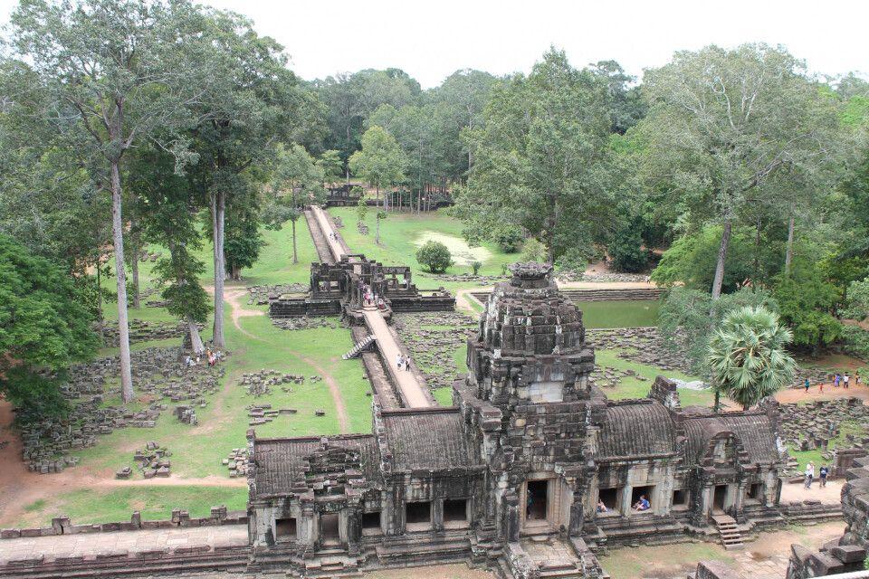 Blick vom Tempel Baphuon