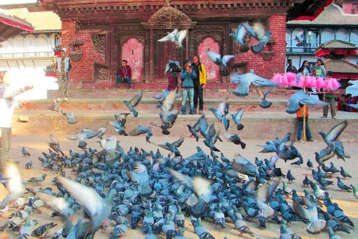 Durbar Square mit Kathmandu
