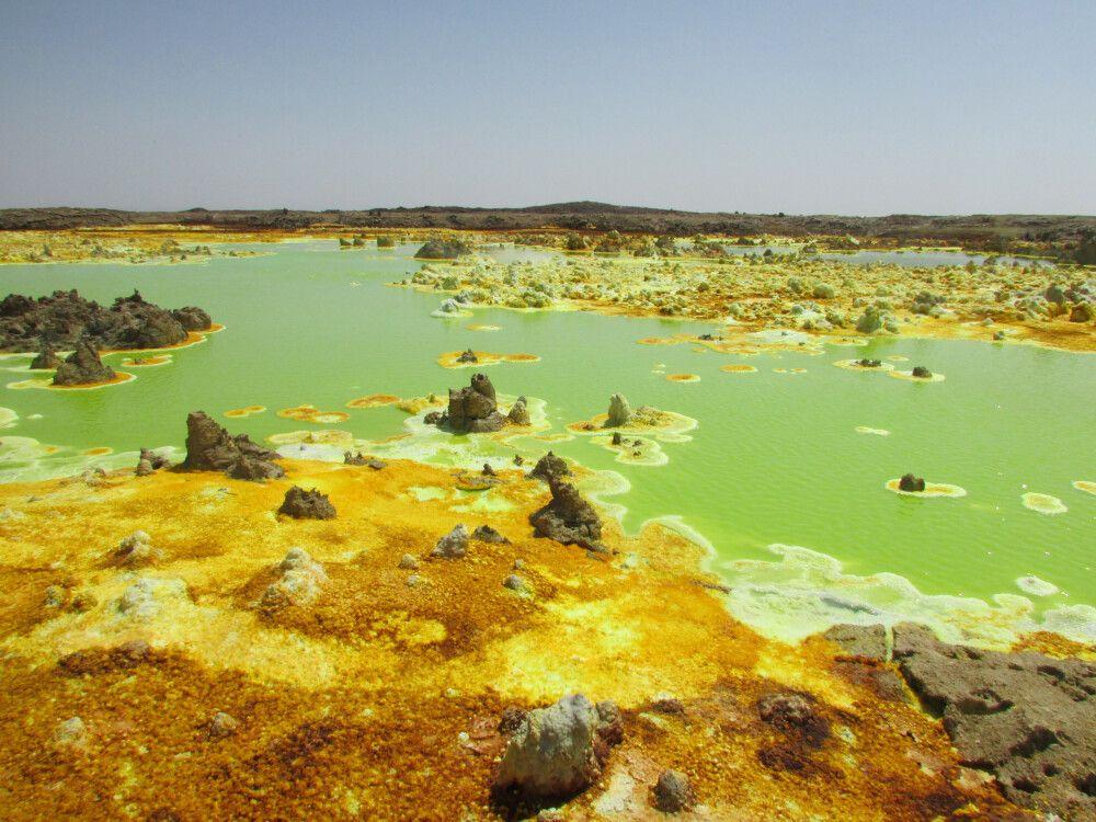 Schwefelsee in der Danakil