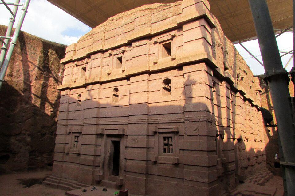 Lalibela unter dem Schutz der UNESCO