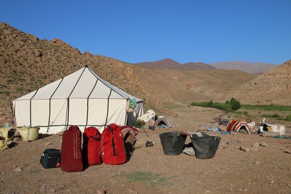 Die Lager sind spartanisch, es bleiben dennoch keine Wünsche offen