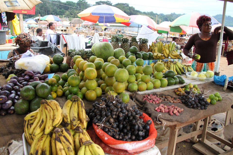 leckeres Obst auf dem Markt
