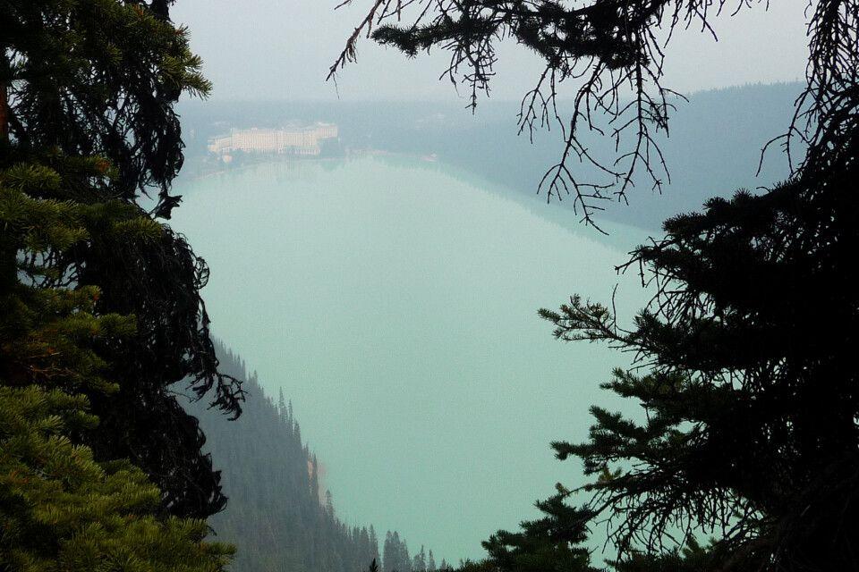 Lake Louise mit dem bekannten Chateau