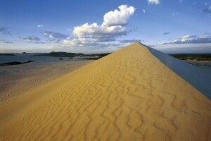 Kangaroo Island Little Sahara Sanddünen