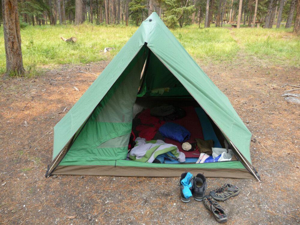 Campingplatz in Banff: Das traute Heim für die nächsten zwei Wochen