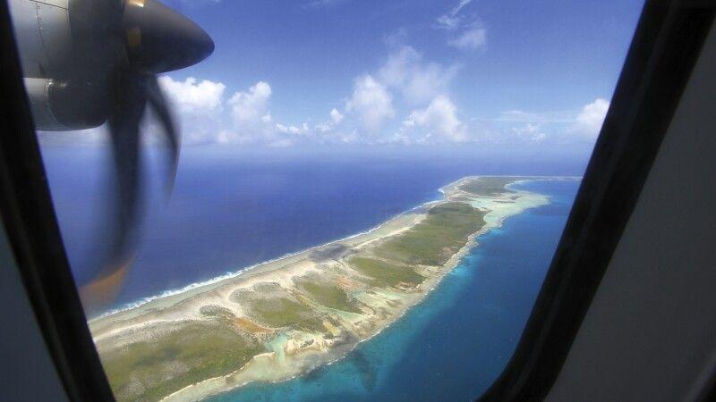 Blick aus dem Flugzeug © Diamir