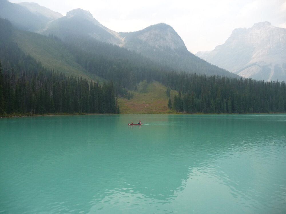 Türkisblauer Emerald Lake