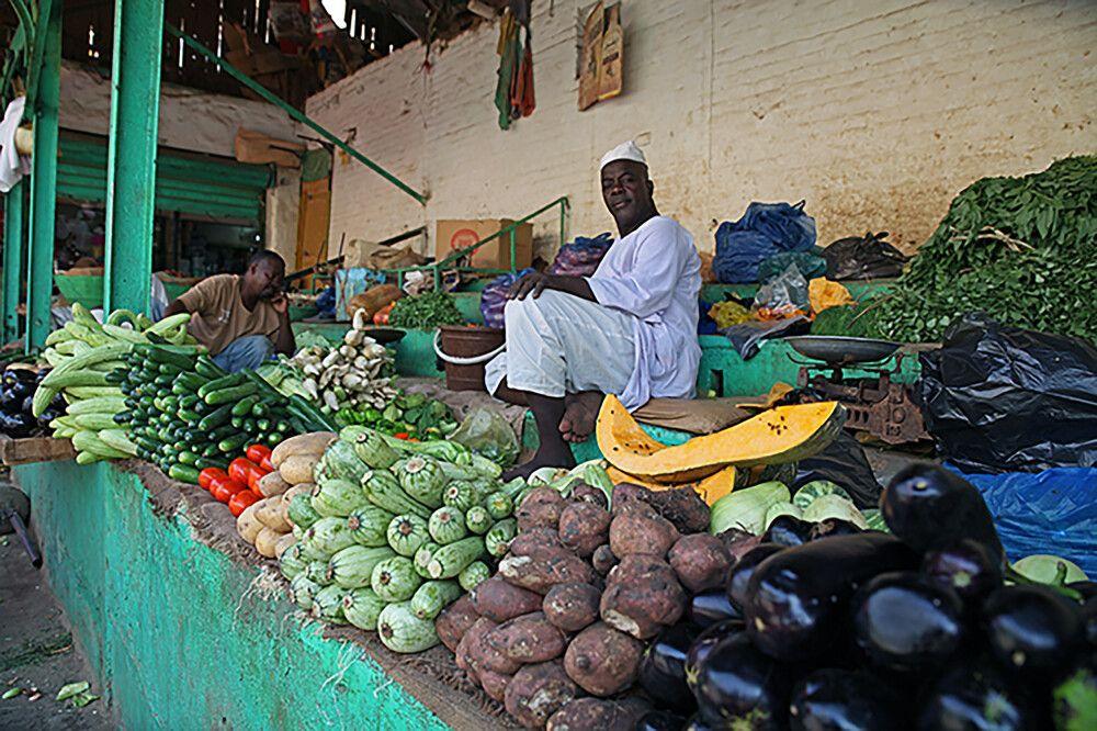 Gemüsemarkt in Omdurman