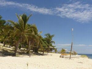 Volleyballfeld auf Malolo Island - Mamanucas
