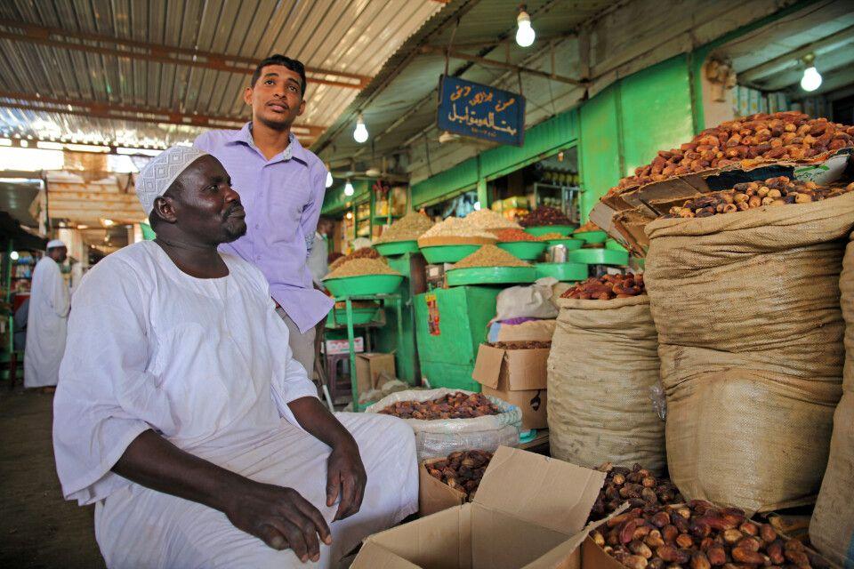 Dattel-Markt in Omdurman