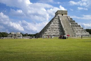 Chichen Itza auf Yucatan in Mexiko