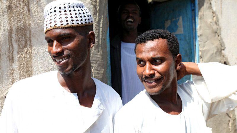 Sudanesen in Kerma © Diamir