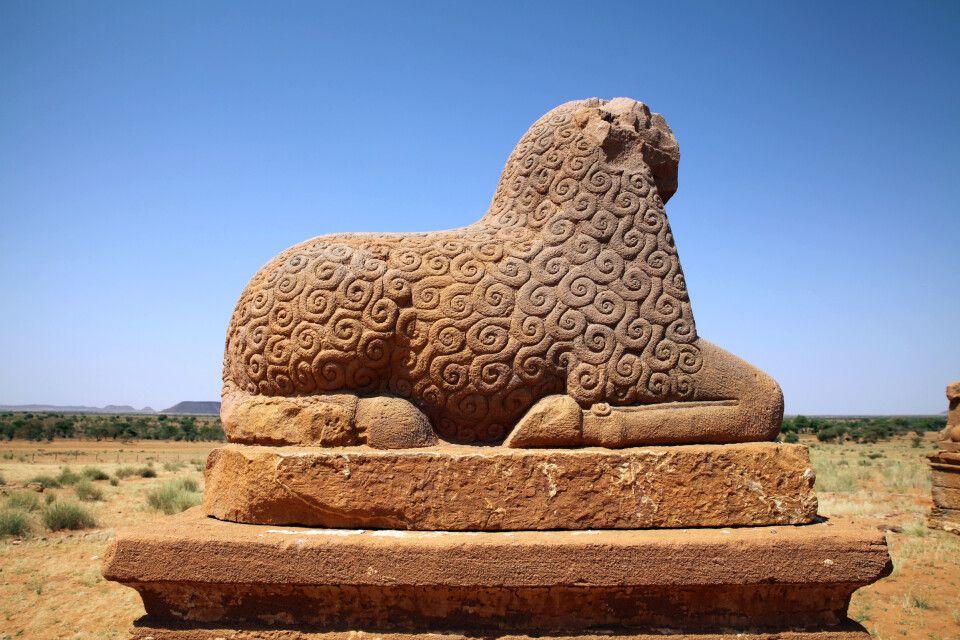 Skulptur in Naga