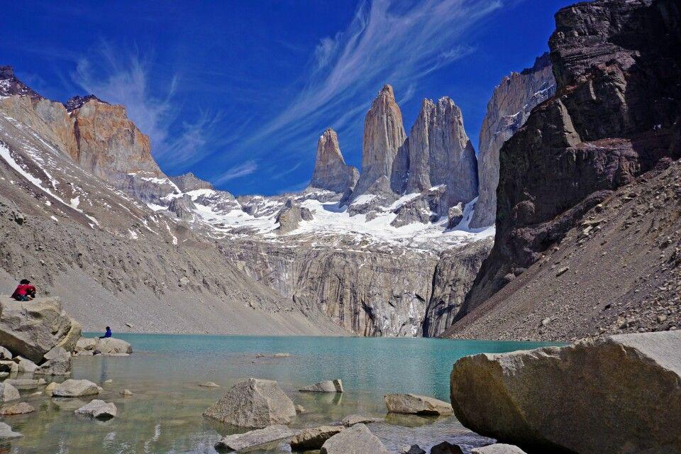 Die Granittürme im Nationalpark Torres del Paine