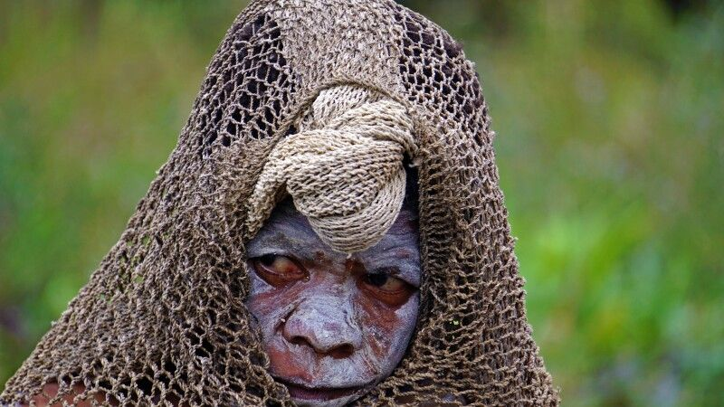 Eine Witwe im Hochland © Diamir