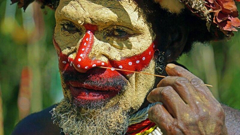 Huli im Portrait © Diamir