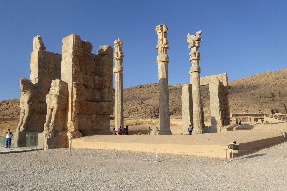 antike Ruinenstadt Persepolis