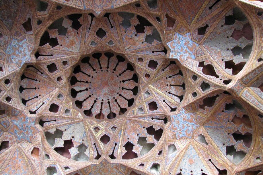 Ali Qapu Pal Decke