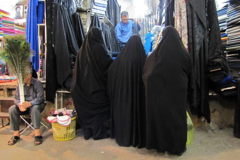 Shiraz, Vakil-Basar: Tschadors