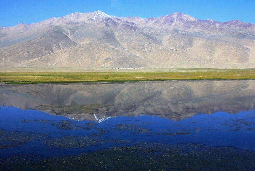 Malerisch gelegen: der See Bulunkul