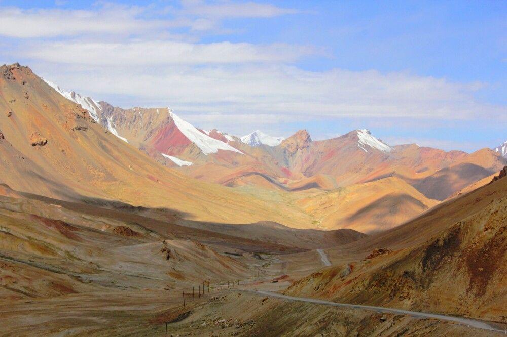Blick vom Akbaital-Pass nach Norden