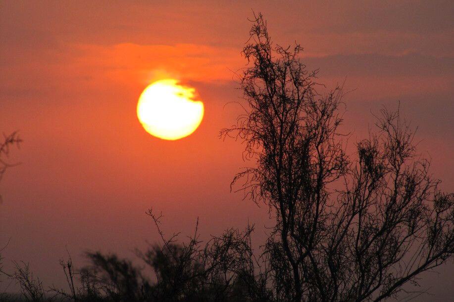 Camp Matin Abad: Sonnenaufgang