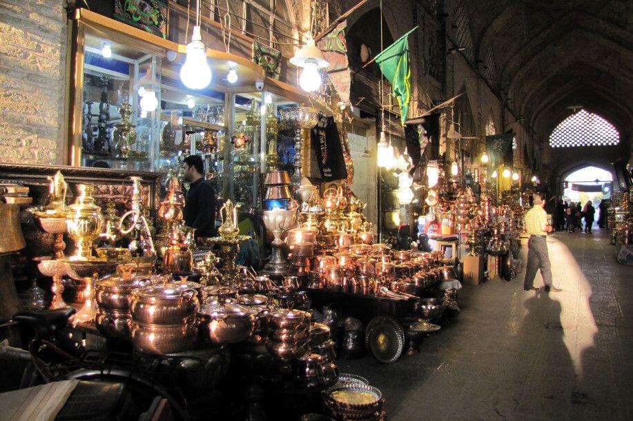 Isfahan: Basar am Imam-Platz