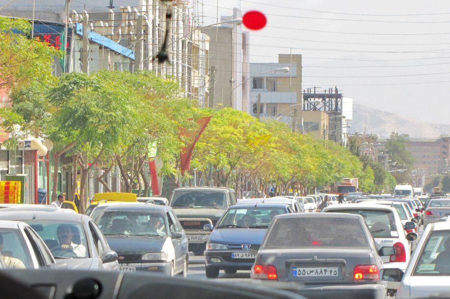 Kerman: Stadtstraße