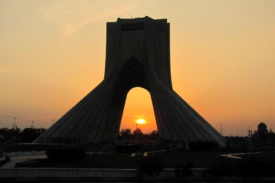 Teheran: Azadi-Monument