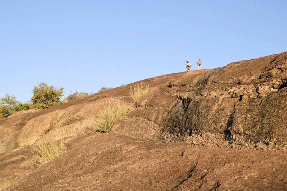 Granithügel im Matobo NP: ältester Nationalparks Simbabwes