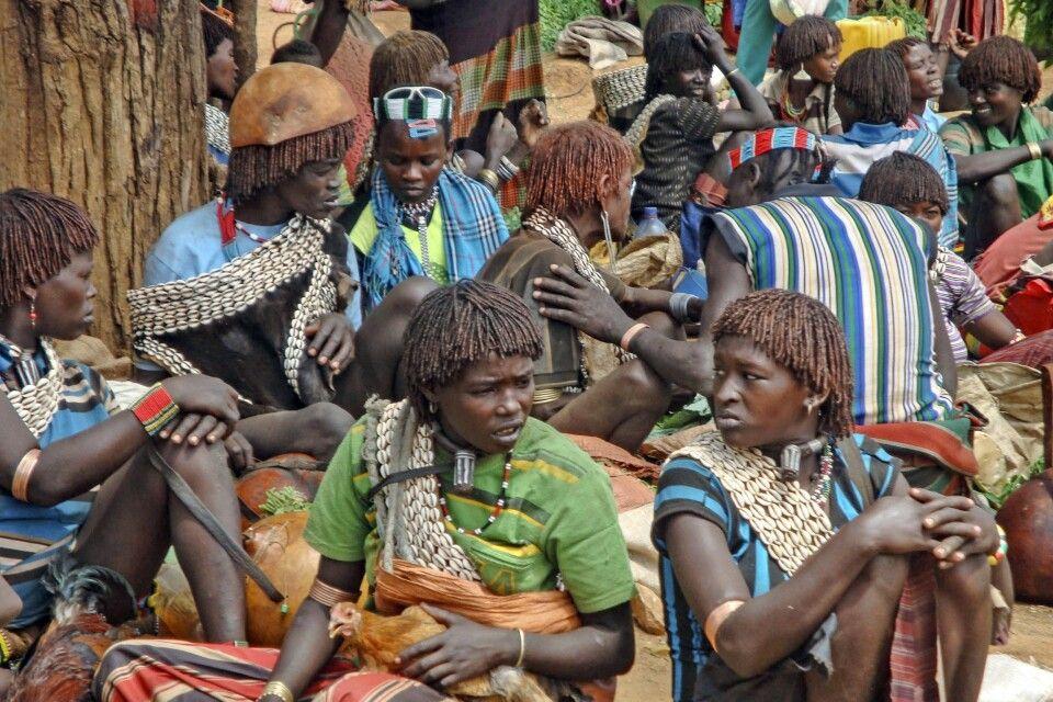 Markttag in Südäthiopien