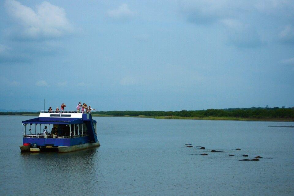 Bootfahrt im St. Lucia Wetland Park
