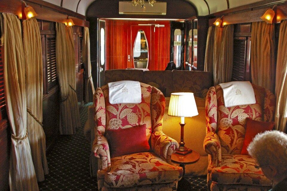 Rovos Rail: Der Salonwagen