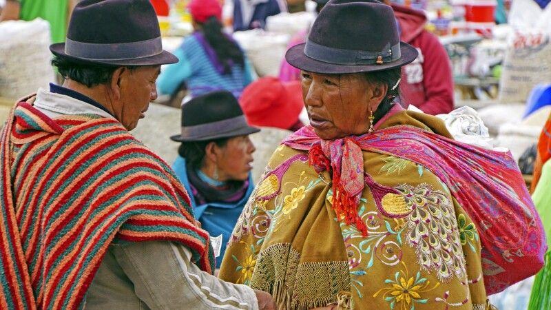 Auf dem Markt in Zumbahua © Diamir