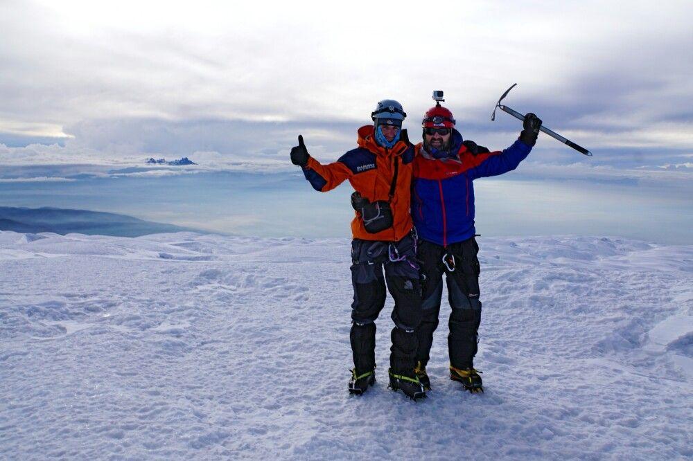 Auf dem Chimborazo – glücklich auf 6310 m!