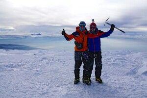 Auf dem Chimborazo - glücklich auf 6310 m!