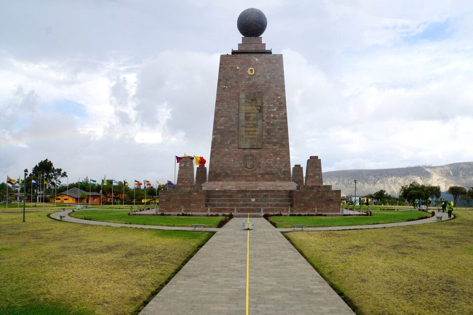 "Äquatordenkmal ""Mitad del Mundo"""