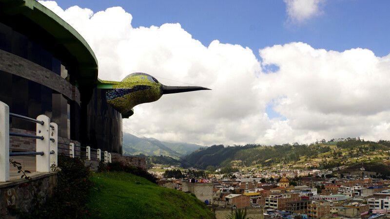 """Blick über Otavalo vom """"Balcon"""" © Diamir"""
