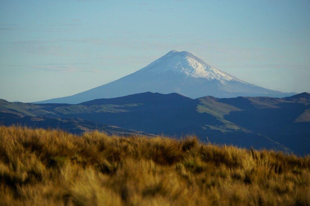 Der aktive Vulkan Sangay