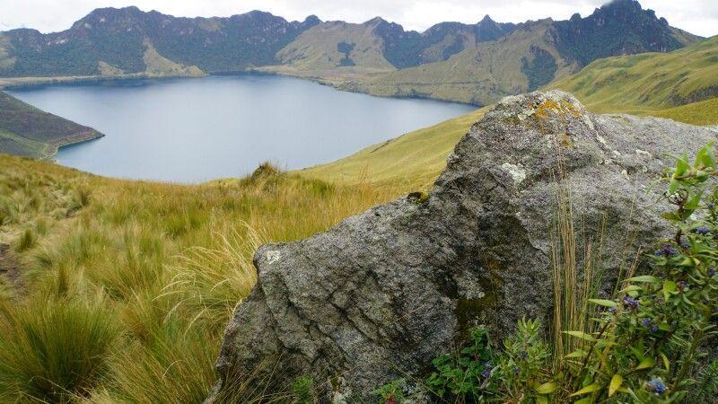 Die zauberhafte Laguna Mojanda am Fuya Fuya © Diamir
